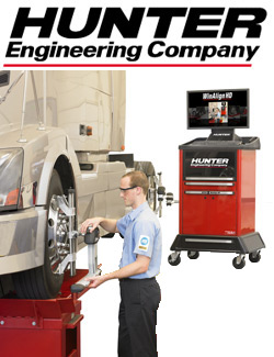 CTE Offers Hunter Wheel Alignment