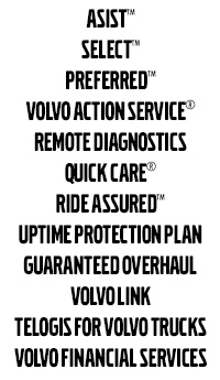 Volvo Trucks Support Services